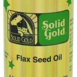 Solid Gold Dogs – Flax Seed Oil Dog, Cats, and Horses – 12 fl. oz (355