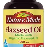 Nature Made Cardiovascular Support – Flaxseed Oil 1000 mg – 100