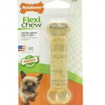 Nylabone Dogs – Flexi Chew Bone (Petite Dogs, Up To 15 Lbs / 7 Kg),