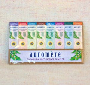 flowers-spice-incense-sample-pack-8-count-by-auromere