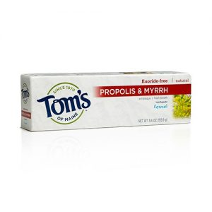 fluoride-free-propolis-myrrh-toothpaste-fennel-55-oz-1559-grams-by-toms-of-maine