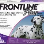 Frontline Dogs – Frontline Plus for Dogs (45-88 lbs) – 3 Applicators