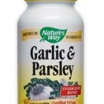 Nature's Way Cardiovascular Support – Garlic and Parsley – 100