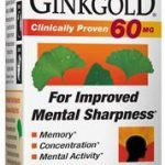 Nature's Way Cardiovascular Support – Ginkgold 60 mg – 100 Tablets