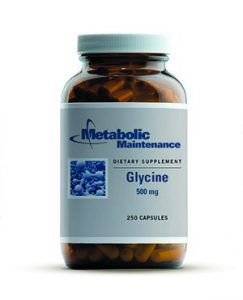 glycine-500mg-250-capsules-by-metabolic-maintenance