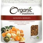 Organic Traditions Snacks – Golden (Inca) Berries – 16 oz (454 Grams)