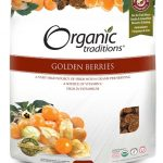 Organic Traditions Snacks – Golden Berries – 8 oz (227 Grams)
