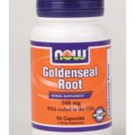 NOW Herbals/Herbal Extracts – Goldenseal Root 500 mg – 50 Capsules