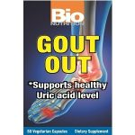 Bio Nutrition Joint Support – Gout Out – 60 Vegetarian Capsules