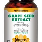 Country Life Cellular Support – Grape Seed Extract 100 mg – 50