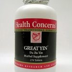 Health Concerns General Health – Great Yin – 270 Tablets