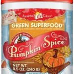 AmaZing Grass General Health – Green SuperFood Pumpkin Spice – 30
