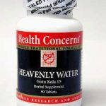 Health Concerns Herbals/Herbal Extracts – Heavenly Water – 90 Tablets