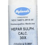 Hyland's Homeopathic Remedies – Hepar Sulphuris Calcareum 30X – 250