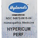Hyland's Homeopathic Remedies – Hypericum Perfoliatum 6X – 250 Tablets