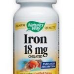 Nature's Way Cardiovascular Support – Iron 18 mg – 100 Capsules