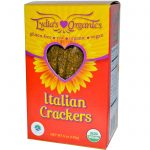 Lydia's Kind Foods Snacks – Italian Herb Crackers (Sprouted &