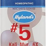 Hyland's Homeopathic Remedies – Kali Muriaticum 6X – 1000 Tablets