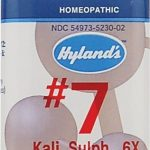 Hyland's Homeopathic Remedies – Kali Sulph 6X – 1000 Tablets