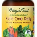 MegaFood Children's Formulas – Kid's One Daily – 60 Tablets