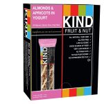 Kind Snacks – KIND Fruit & Nut – Almonds & Apricots in Yogurt – Box of