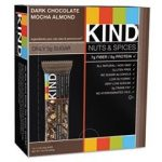 Kind Snacks – KIND Nuts & Spices – Dark Chocolate Mocha Almond – Box
