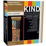 Kind Snacks – KIND Nuts & Spices – Madagascar Vanilla Almond – Box of