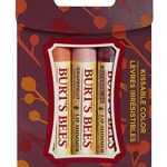 Burt's Bees Makeup – Kissable Color Gift Set, Cool Collection – Pack