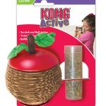 kong-active-scratch-apple-for-cats-1-count-by-kong