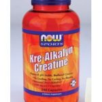 NOW Exercise Stamina – NOW Sports – Kre-Alkalyn Creatine – 240