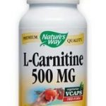 Nature's Way Cardiovascular Support – L-Carnitine 500 mg – 60 VCaps