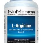 NuMedica Amino Acids – L-Arginine 750 mg – 120 Vegetable Capsules