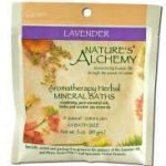 Nature's Alchemy Bath and Body – Lavender Aromatherapy Mineral Baths –
