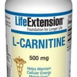 Life Extension Metabolic Support – L-Carnitine 500 mg – 30 Vegetarian