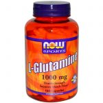 NOW Amino Acids – NOW Sports – L-Glutamine 1000 mg – 120 Capsules