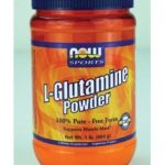 NOW Amino Acids – NOW Sports – L-Glutamine Powder – 1 lb (454 Grams)