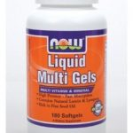 NOW Multivitamins – Liquid Multi Gels – 180 Softgels