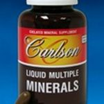 Carlson Labs Minerals – Liquid Multiple Minerals – 180 Soft Gels