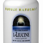 Source Naturals Amino Acids – L-Leucine Powder – 3.53 oz (100 Grams)
