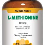 Country Life Liver Support – L-Methionine 500 with B-6 – 60 Tablets