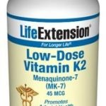Life Extension Cardiovascular Support – Low-Dose Vitamin K2 (MK-7) 45