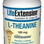 Life Extension Nervous System Support – L-Theanine 100 mg – 60