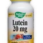 Nature's Way Ocular Health – Lutein – 60 Softgels