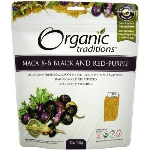 maca-x-6-powder-black-red-purple-61-raw-gelatinized-53-oz-by-organic-traditions