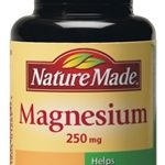 Nature Made Minerals – Magnesium 250 mg – 100 Tablets