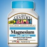21st Century Metabolic Support – Magnesium 250 mg – 110 Tablets