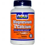 NOW Joint Support – Magnesium & Calcium 2:1 ratio – 250 Tablets