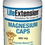Life Extension Cardiovascular Support – Magnesium Caps 500 mg – 100