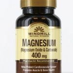 Windmill Cardiovascular Support – Magnesium Oxide & Carbonate 400 mg –