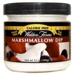 Walden Farms Spreads/Dressings/Dips – Marshmallow Dips for Fruit Jar –